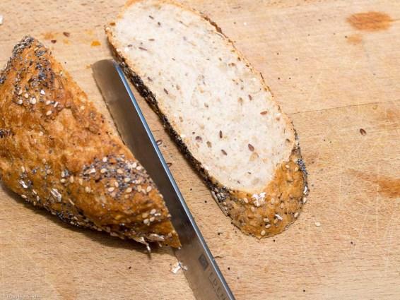 Toast met pompoen crème en geroosterde pompoenpitten-14