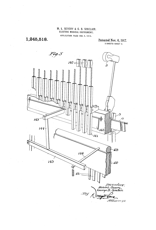 Choralcelo patent files