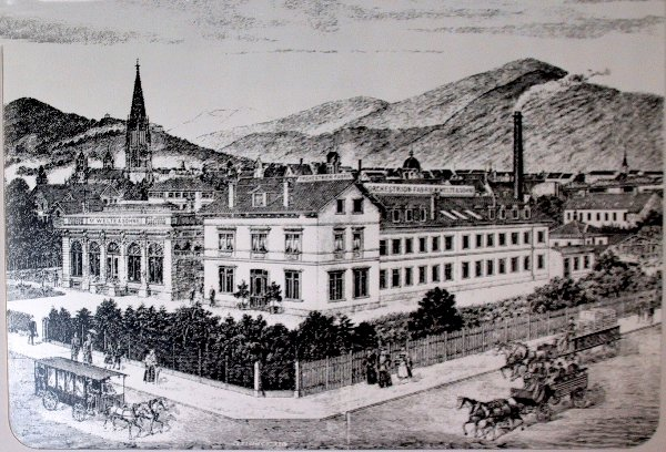 Welte factory in Freiburg, Germany