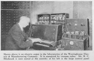 Hirchcock and the Westinghouse organ 1931