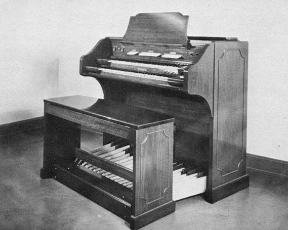 Early Model of Winston Kock's Baldwin organ