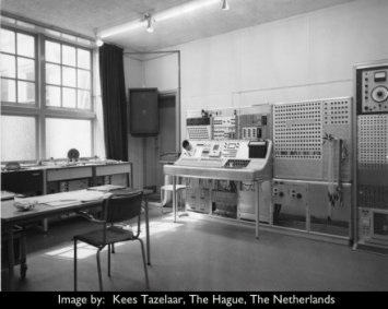 Analogue Studio at STEM, utrecht