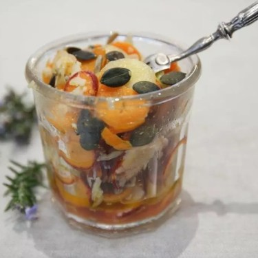 salade carottes multicolores