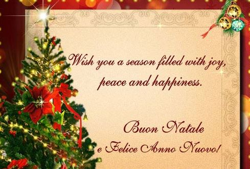 christmas wishes quotes in italian