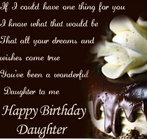 Images Birthday Wishes For Daughter Birthday Wishes For Daughter