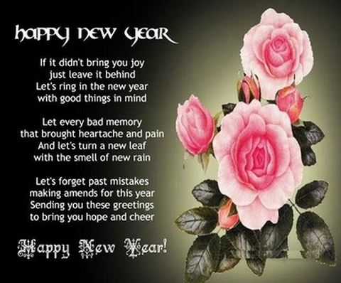 romantic new year sms messages images