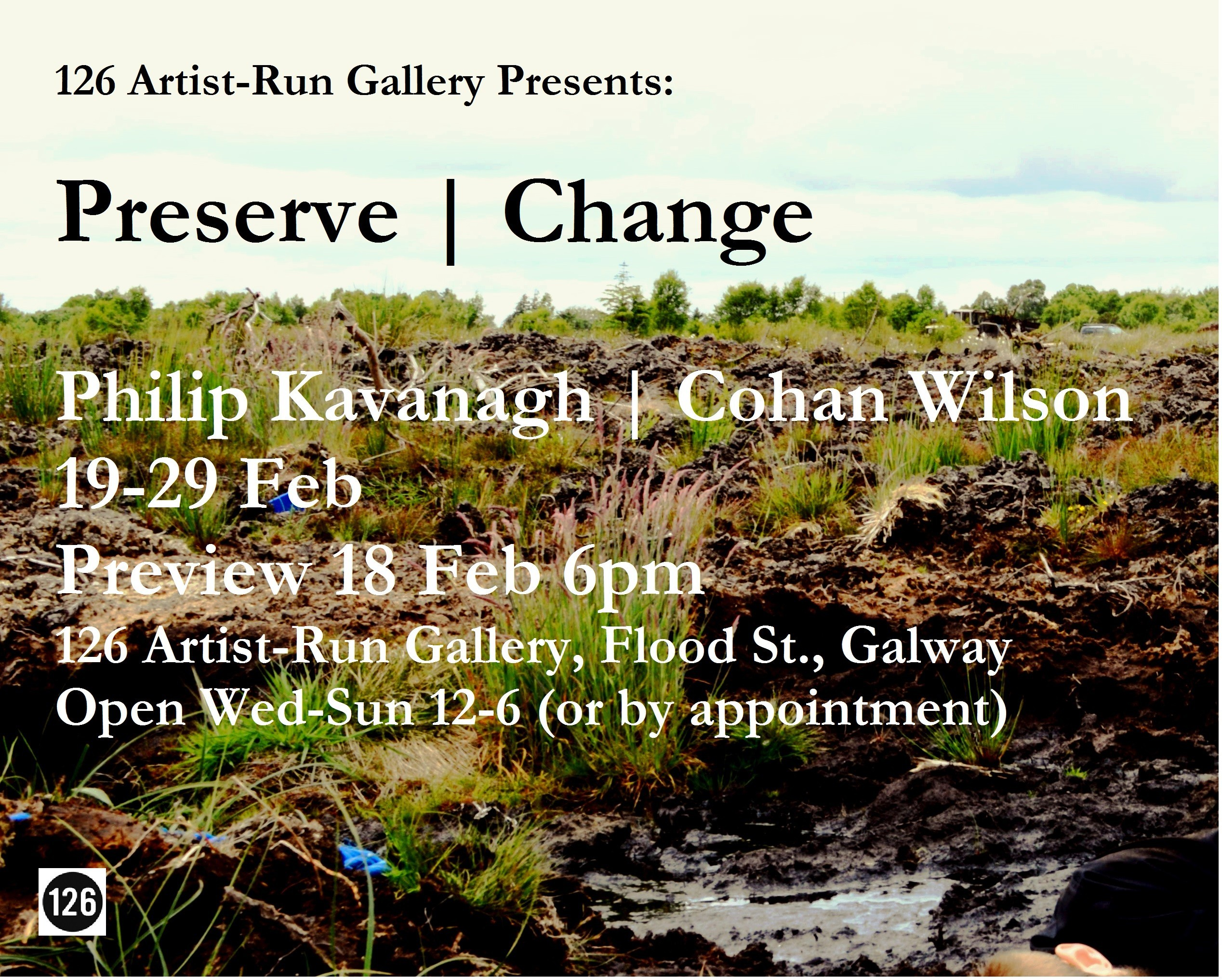 Opening Thurs 18 Feb 6pm Preserve | Change