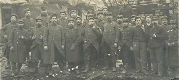 Ablaincourt, le pressoir,1916, 16e RI