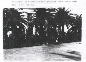 GR devant les troupes oranaises