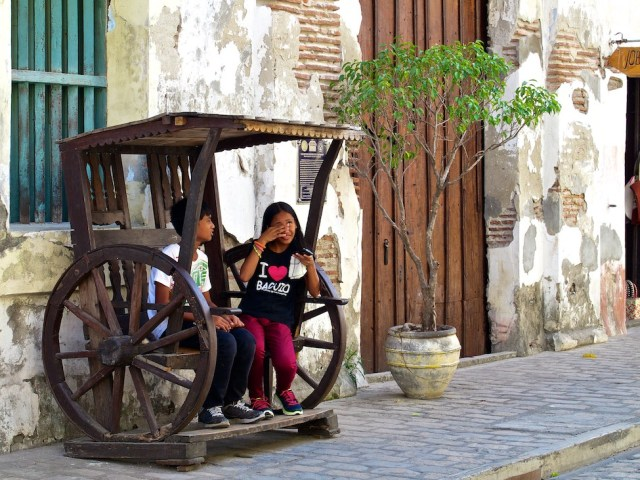 Benches in Vigan