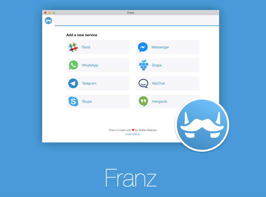 Franz_application_for_mac