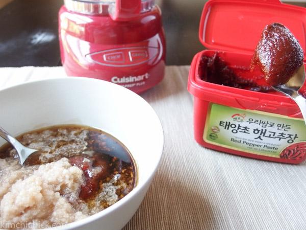 Bibim Naengmyeon sauce