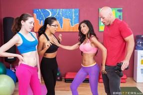 Teens Like It BIG Trinity St Clair The Yoga Babe VS the Voyeur BRAZZERS