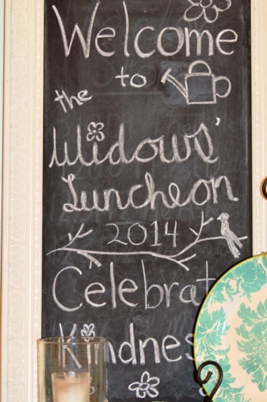 Widows Luncheon at the 173 Carlyle House in Norcross