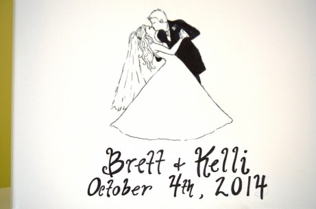 Congratulations Brett and Kelli!
