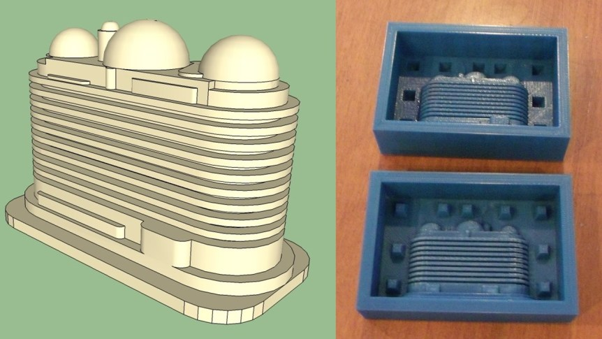How to make a two part mold