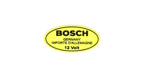 FOR SALE: Old Stock BOSCH 12V Coil Decals