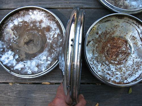 67 beetle hubcaps
