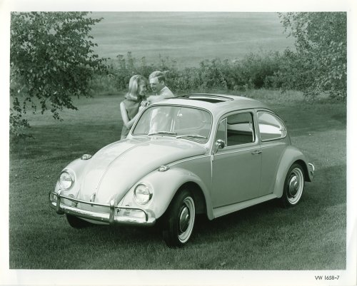 Original '67 Beetle Press Photos