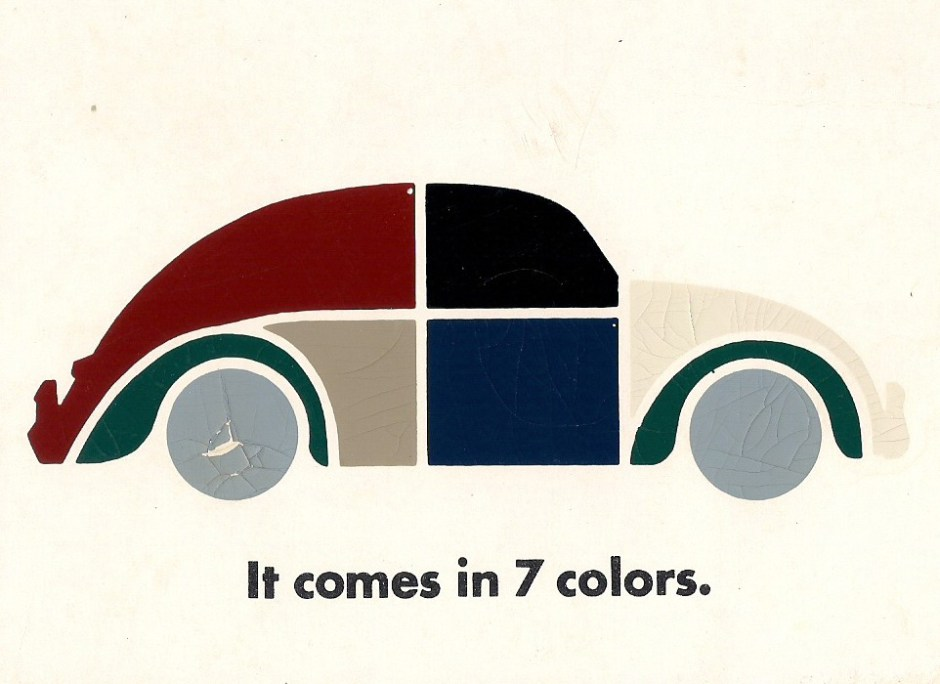 The '67 Beetle — It Comes in 7 Colors