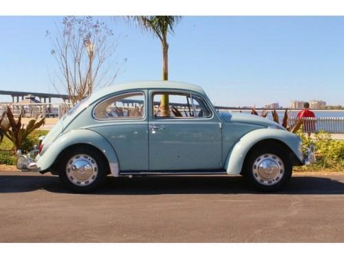 FOR SALE: L639 Zenith Blue '67 Beetle