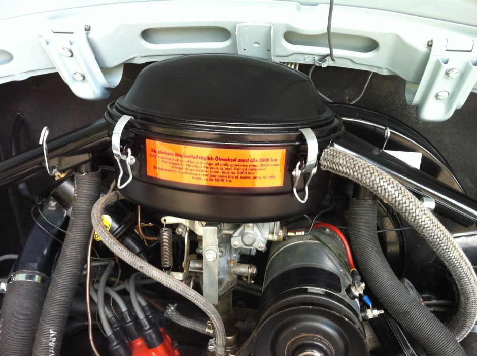 Gary Beck's Oil bath Air Cleaner Install