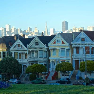 "'Painted Ladies', San Francisco      <a href=""http://19onephotography.com/?p=99550"">Buy Now</a>"