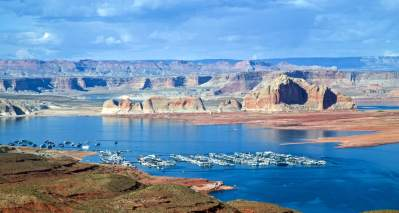 Wahweap Marina, Lake Powell, Arizona      Buy Now