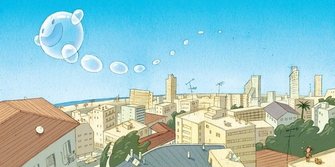 Gali's Soap Bubbles… Illustrations by Lena Guberman