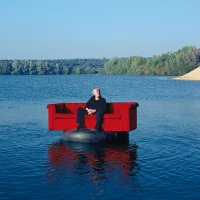 The Red Couch... Photographer Horst Wackerbarth