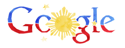 Philippines Independence Day 2012 Google doodles