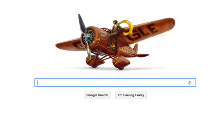Amelia Earhart 115th birthday