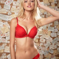 Martha Hunt Sexy Cute Lingerie Pictures For Xmas
