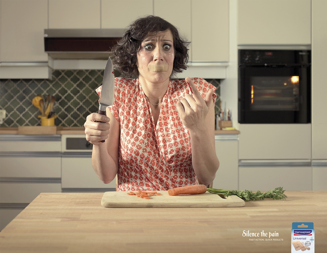 Silence the Pain – Hansaplast Creative Ads