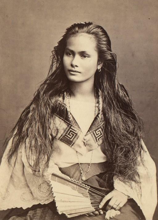 Luzon woman, Philippines (c. 1870-1914).