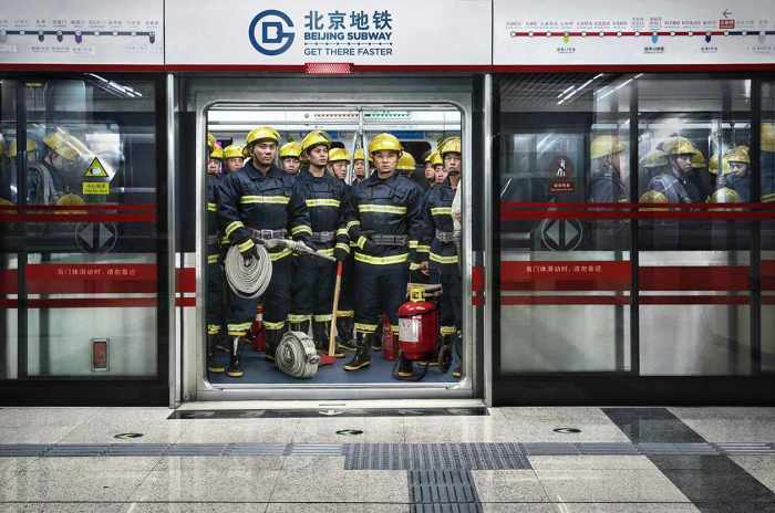 Beijing Subway: Get there faster (Grey, Beijing, China)