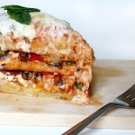 Savory Pizza Cake