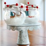 sugar free, Snow Globe Popsicle Bowls, snow, globe, popsicle, bowls, easy, christmas, winter, hanukkah, chanukah, idea, recipe, snow, edible, glitter, nordic, cute, adorable, party, wonderland, party, unique,