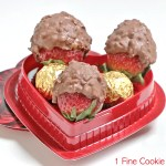 ferrero rocher strawberries pic font