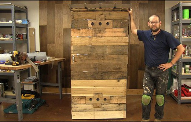 Finished | Build A Homemade Pallet Smoker