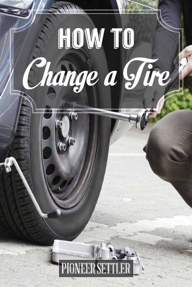 How to Change a Tire Safely |Homestead Tips