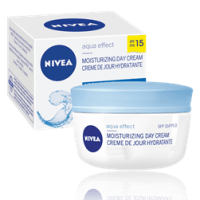Product of the day: Nivea Aqua Effect Moisturizing Day Cream SPF 15