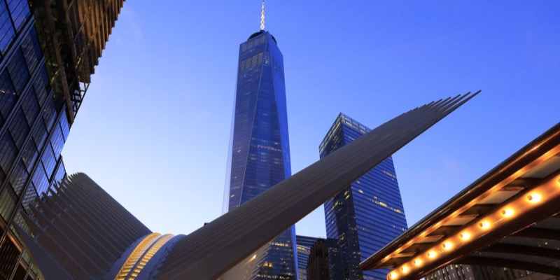Watch an Amazing Time Lapse Video of How the World Trade Center's Train Station Was Built