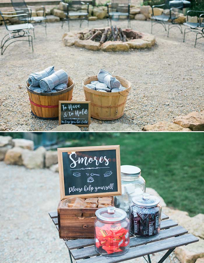 12 Ways To Make Your Winter Wedding Feel Warm and Cozy