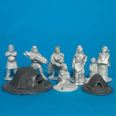 Dark Age(Early Medieval) Villagers01