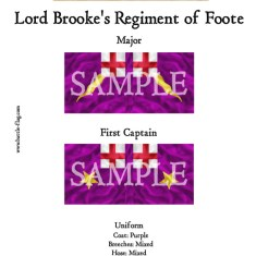 ECW/PAR/015 (A) Lord Brooke's Regiment of Foote