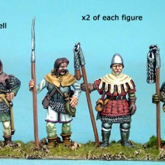Men with Polearms III