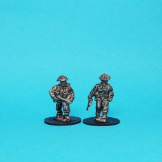 28mm ww2 british infantry command officers