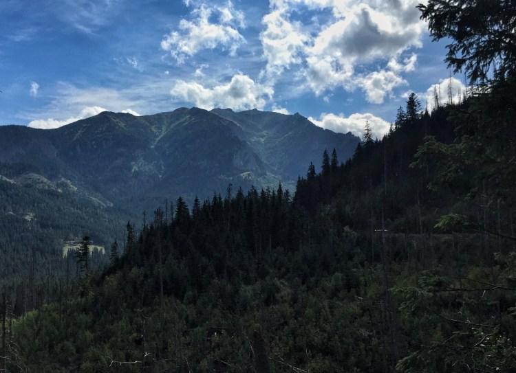 Hohe Tatra Gipfel Panorama