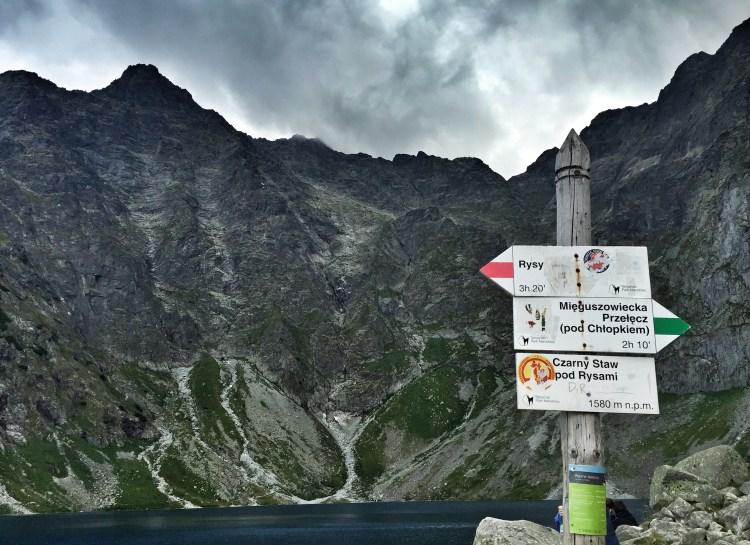 Czarny Staw pod Rysami, Hohe Tatra Rysy